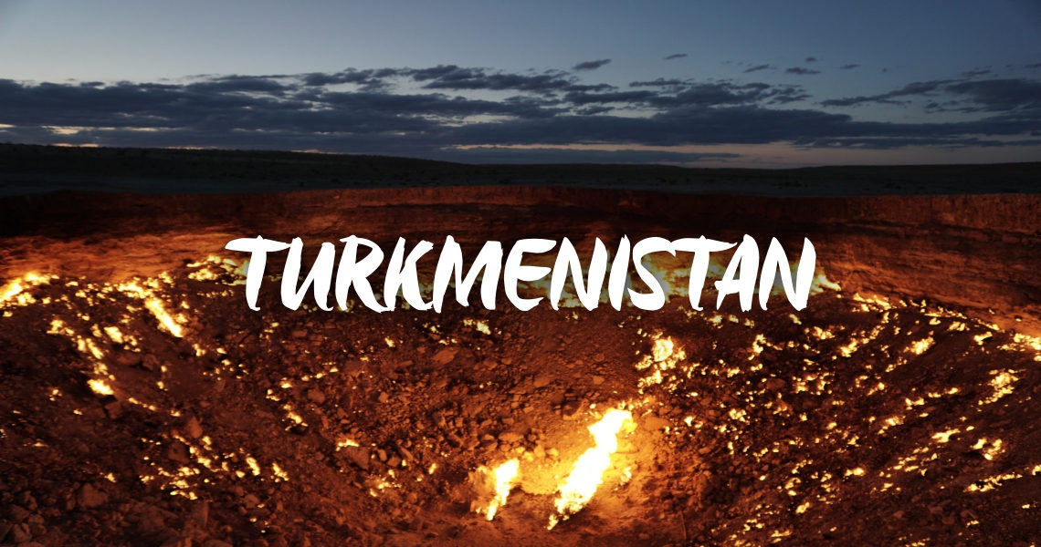 trip to turkmenistan locations and destinations